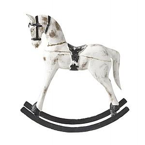 Rocking Horse TROJA Medium - White