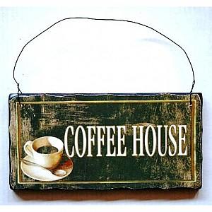 Träskylt Coffee House