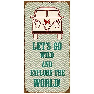 Magnet Let's go wild and explore the world