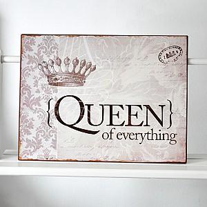 Tin Sign Queen