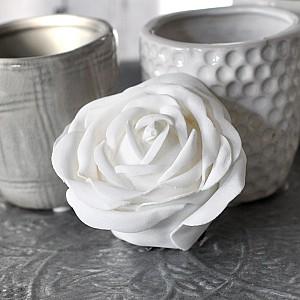 Decor Rose White 7 cm