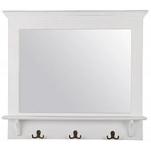 Spegel med krokar