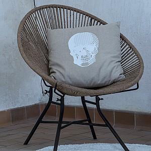Cushion Cover Skull