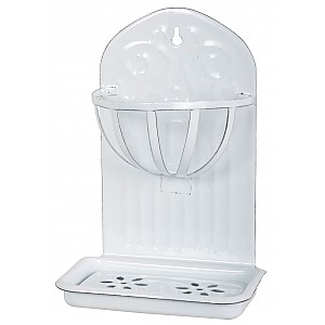 Vägghållare / Tvålkopp