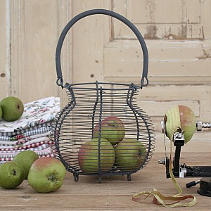 Egg Basket / Wire Basket - Large