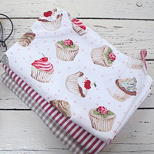 Tea Towel Cupcakes