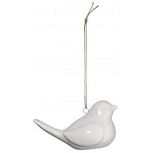 Hängande fågel i keramik