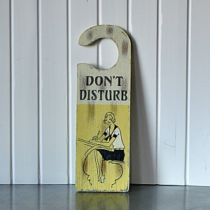 Door Sign - Don´t disturb