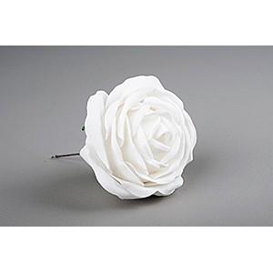 Dekor Ros Vit 10 cm