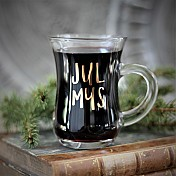 Serving Mulled Wine